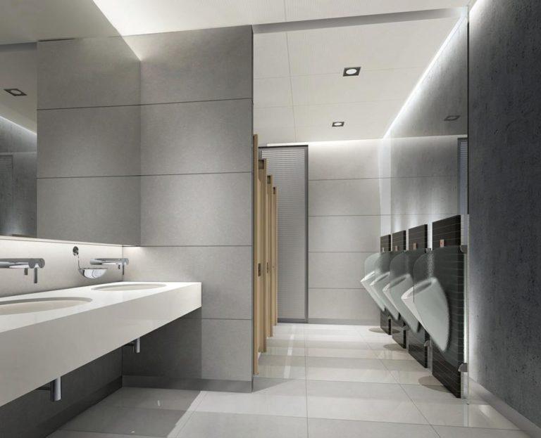 Stawianie doskonale przygotowanych toalet publicznych